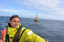 Passage de la bouée Stags au large de l'Irlande, Mini Fastnet 2016
