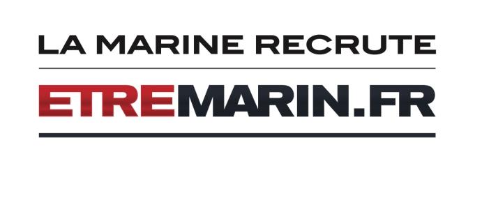 Logo LA MARINE ECRUTE + ETRE MARIN.FR